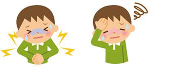 咳や鼻水くしゃみが少ないのも夏風邪の特徴