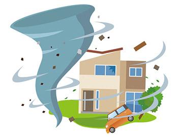 台風の目とは具体的には何なのか?意味は?