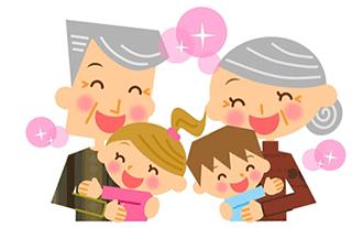 孫を大切に思う祖父母にとって何よりの贈り物