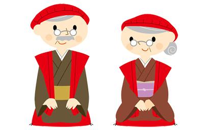 還暦のお祝いに赤色が使われるのは何故?